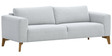 Stewart Three Seater Sofa in Light Grey Colour by Madesos