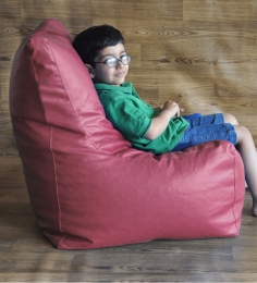 Style HomeZ Maroon XL Chair Shaped Bean Bag Cover (Without Beans)