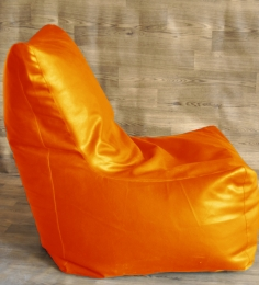 Style HomeZ Orange XXL Chair Shaped Bean Bag Cover (Without Beans)
