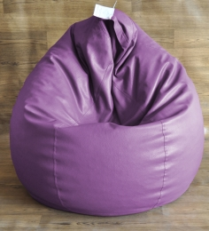 Style HomeZ Purple XXL Classic Bean Bag Cover (Without Beans)