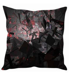 Stybuzz 3D Mirror Abstract Cushion Cover