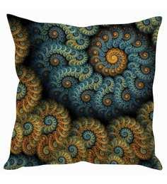 Stybuzz Multicolor Silk 16 X 16 Inch Cushion Cover