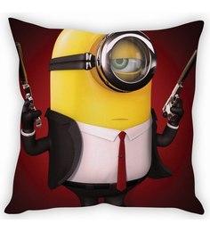 STYBUZZ Minion In Black Cushion Cover