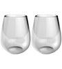 Stallion Barware Unbreakable Bulb Wine Glass - 440 ML - Pack of 2