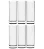 Stallion Barware Unbreakable High Ball Glass - 330 ML - Pack of 6
