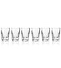 Stallion Barware Unbreakable Rush Shots Glass - 65 ML - Pack of 6