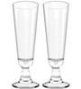 Stallion Barware Unbreakable Tornado Beer Glass - 490 ML - Pack of 2