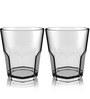 Stallion Barware Unbreakable Vintage Whisky Tumbler Glasses - 300 ML - Pack of 2