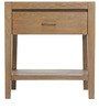 Stark Series Bedside Table in Natural Colour by Asian Arts