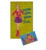 Status Barbie 2Pc Combo Rug Door Mat Crisp Green