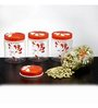 Steelo Transparent 750 Ml Storage Container - Set of 4
