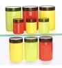 Steelo Transparent 200 Ml - 3/800 Ml - 3/1100 Ml - 3 Pcs Storage Container - Set of 9