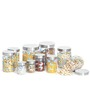 Steelo Transparent Storage Container - Set of 10