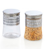 Steelo Transparent 1200 Ml Storage Container -Set of 4
