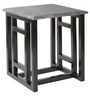 Stein End Table in Stone Grey Finish by Inscape Design