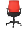 Steller Ergonomic Office Chair in Red & Black Colour by Nilkamal
