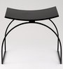 Stool in Black Colour by Indecrafts
