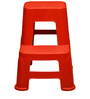 Stool in Bright Red Colour by Nilkamal