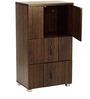Chikako Storage Cabinet in Wenge Finish by Mintwud