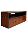 Genuine Leather - Streamer Entertainment Unit By Studio Ochre