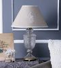 Stuart Table Lamp in Beige by Amberville