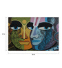 Studio3 Canvas 36 x 24 Inch 4079 Abstract Faces Unframed Painting