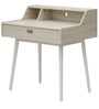 Study Table in White Wash Finish by Marco