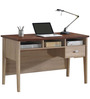 Study Table with Finished Back and Tapered Legs by AfyDecor