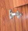 Sturdy Three Door Wardrobe in English Teak Finish by Kurl-On