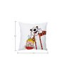 Stybuzz Calvin and Hobbes Friendship Silk Cushion Cover