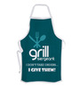 Stybuzz Grill Sergeant Green Cotton Kitchen Aprons
