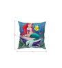 Stybuzz Mermaid Blue Silk Cushion Cover