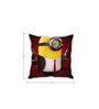 Stybuzz Minion Black Silk Cushion Cover