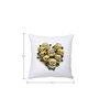 Stybuzz Minions Heart Multi Colour Silk Cushion Cover