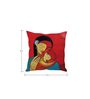 Stybuzz Mothers Love White Silk Cushion Cover