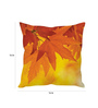 Stybuzz Multicolor Silk 16 x 16 Inch Autumn Cushion Cover
