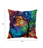 Stybuzz Multicolor Silk 16 x 16 Inch Cushion Cover