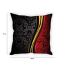 Stybuzz Multicolor Silk 16 x 16 Inch Elegant Cushion Cover