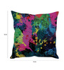 Stybuzz Multicolor Silk 16 x 16 Inch Spill Cushion Cover