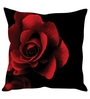 Stybuzz Red & Black Poly Silk Cushion Covers - Set of 10