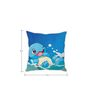 Stybuzz Squirtle Pokemon Silk Cushion Cover