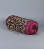 Stybuzz Violet Jute 16 x 30 Inch Bolster Covers - Set of 2