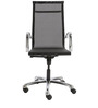 Stylish Ergonomic Chair in Black Colour by FabChair