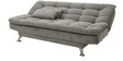 Supersoft Sofa Bed in Light Grey Colour by Furny