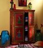 Nivesa - Hand Painted Cabinet by Mudramark