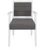 Summer Arm Chair in Grey Colour by @ Home