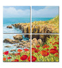 Hashtag Decor Summer Breeze Aluminum 17.75 x 17.75 Inch Framed Art Panel