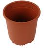 Sunrise 14.5 cm Brown Colour Planter Pot by Chhajed Garden