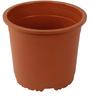 Sunrise 26 cm Brown Colour Planter Pot by Chhajed Garden