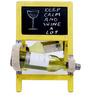 Sunshine Ladder Style Yellow Wine Rack by Desi Jugaad